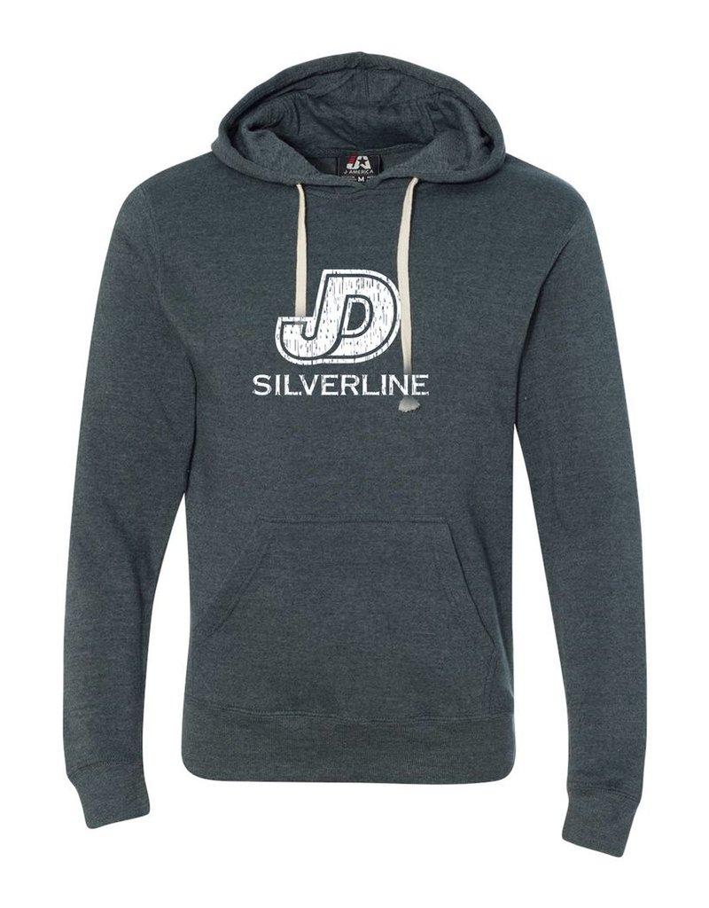 JD Silverline Navy Heathered Sweatshirt