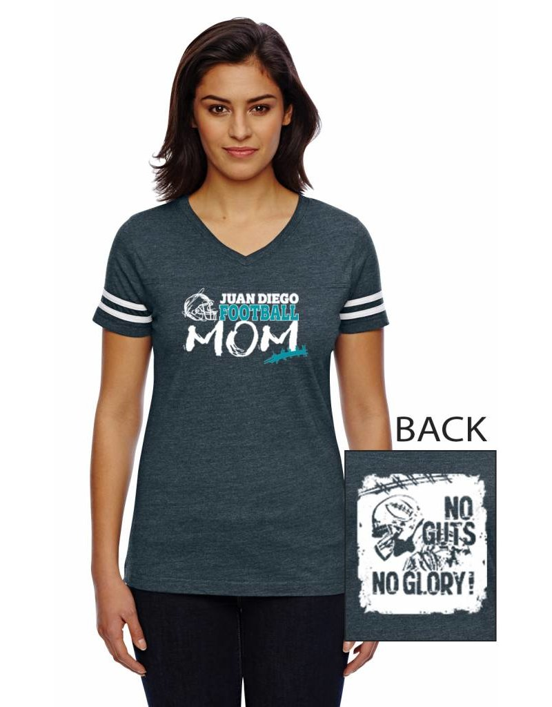 JD Football Women's Mom's Shirt