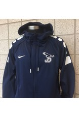 Nike Dri-Fit full-zip jacket, Navy with Eagle on right breast