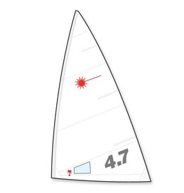 Laser Performance SAIL, LASER 4.7, FOLDED HYDE