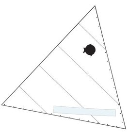 Laser Performance SAIL, SUNFISH, RACE WHITE