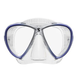 ScubaPro Synergy Trufit Twin - Blue/Silver - Clear Skirt