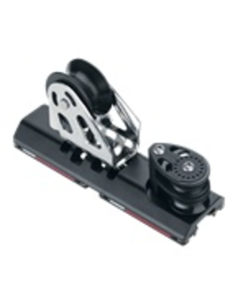 Harken MR 27mm HL 4:1 CB Genoa Lead Car w/Double Sheaves