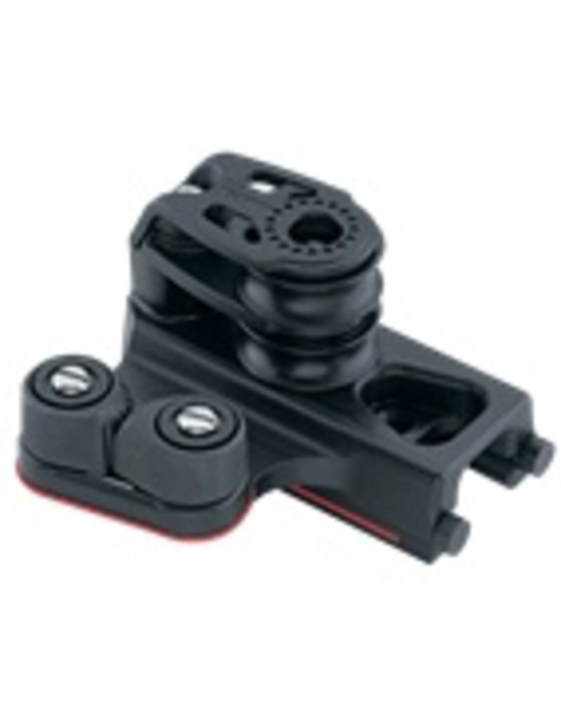 Harken Pair/Double Midrange Traveler End Controls w/Cams