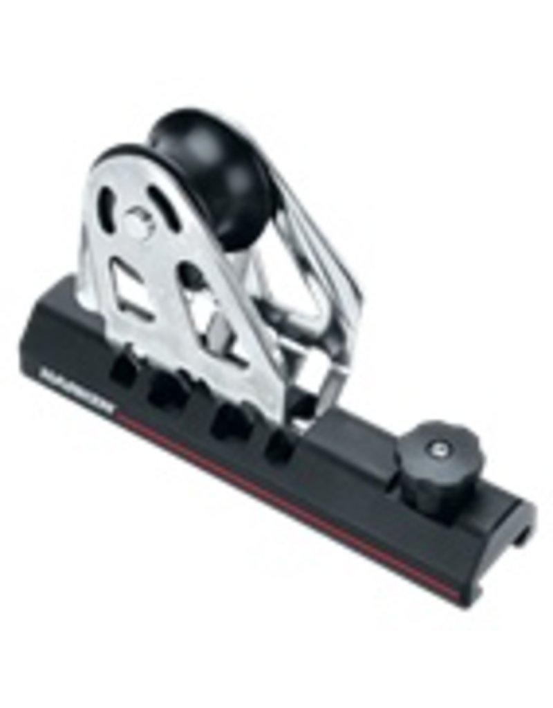 Harken MR 27mm HL Slider Genoa Lead Car w/ Pinstop