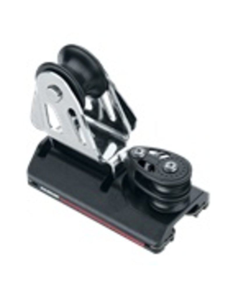 Harken SB 22mm 4:1 CB Genoa Lead Car w/Double Sheaves