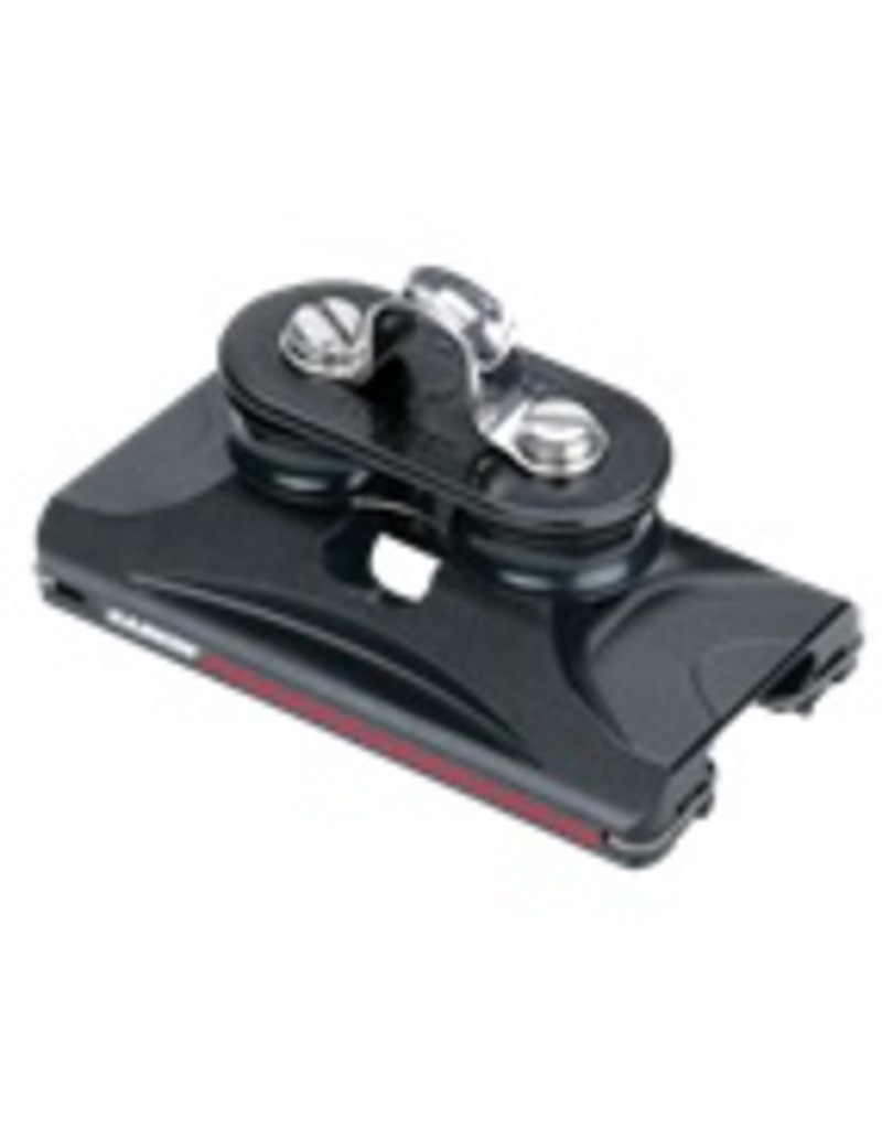 Harken 1250 Small Boat CB Car w/Fixed Sheaves