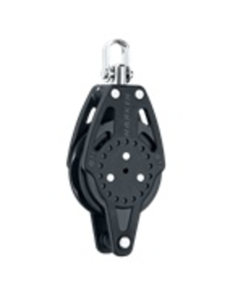 Harken 75mm Carbo Ratchamatic Block w/Becket
