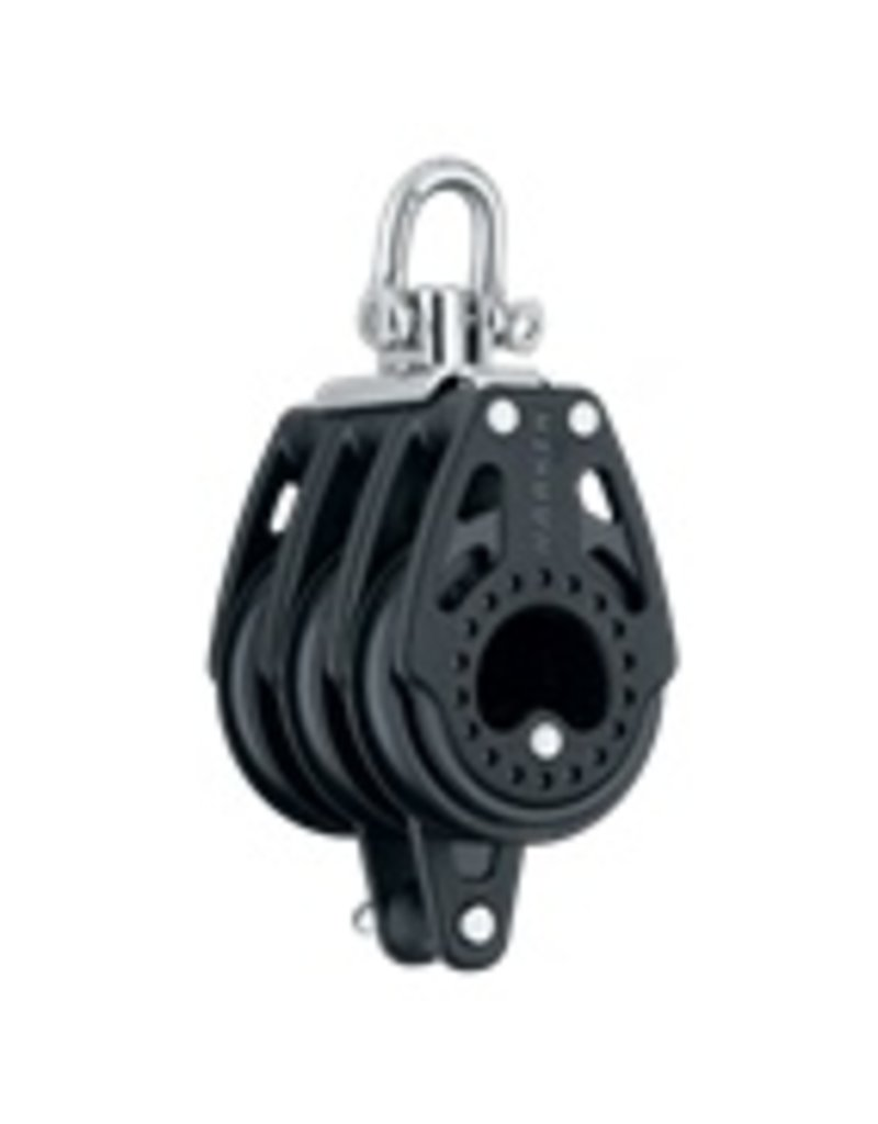 Harken 57mm Triple Carbo Block w/Becket