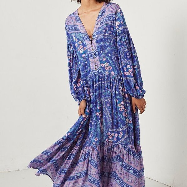Spell Designs Spell City Lights Gown - I Heart Hanalei Beach Boutique
