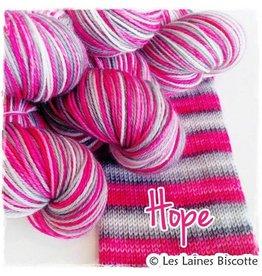 Biscotte Yarns Biscotte Yarns SELF-STRIPING yarn - Bis-Sock Hope