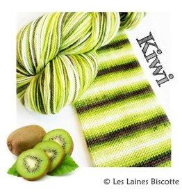 Biscotte Yarns Biscotte Yarns GRIFFON merino wool - Self-striping - Kiwi