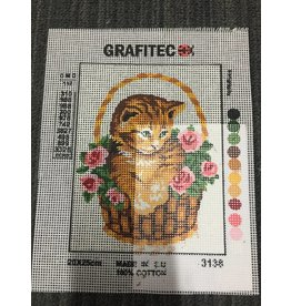 Grafitec Kitty in Basket Tapestry 3.138