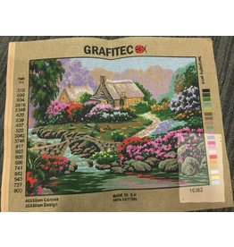 Grafitec Garden By The Old Stone  idge Tapestry 10.382