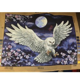 Grafitec Moonlight Owl - 12.996 Tapestry