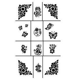 Rub N Etch Rub N Etch Stencils -Miniatures 1