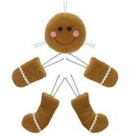 "Craig Bachman 5 Pc 21""H Gingerbread Decor Kit"