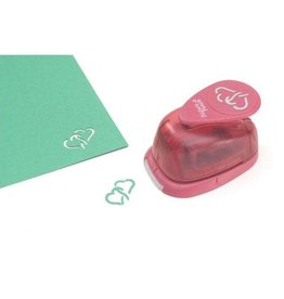 EK Tools Picture Punch Shape Punch - Double Heart - 1 inch