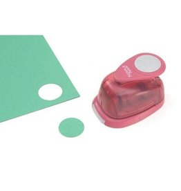 Darice Picture Punch Shape Punch - Circle - 1 inch
