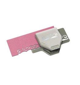 EK Tools EK Tools  Edger Punch - Flourish Scroll - .5 x 1.75 inches