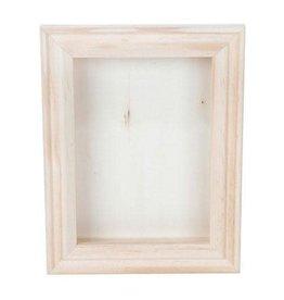 Darice Shadow Box - Natural - 5 x 7 inch