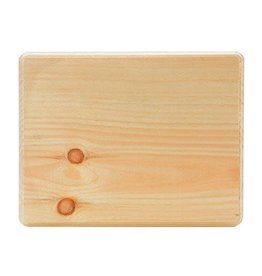 Walnut Hollow Walnut Hollow Pine Wood Plaque - Rectangle - 8.75 x 11 inches