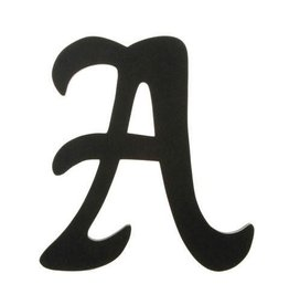 Darice Wood Letter -  Black - 9 inches
