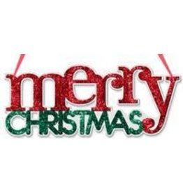 "Craig Bachman 14.25""L ""Merry Christmas"" Word Sign"