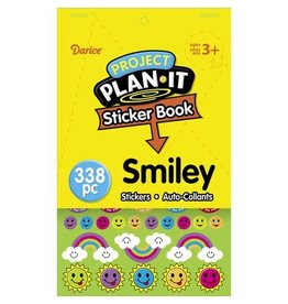 Darice Sticker Book for Kids - Smiley - 338Stickers