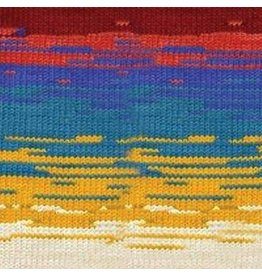 Patons Kroy Sock Cherry Pop Stripes