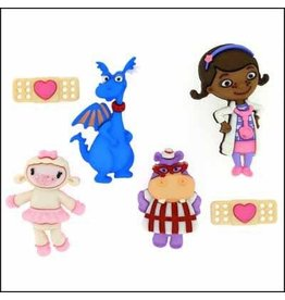Dress Up Button DRESS IT UP Disney - Doc McStuffins