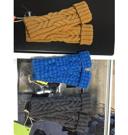 Kim Lantz Kim Cable Fingerless Gloves