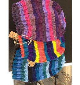 Kim Lantz Kim Slouchy Hats Stripes