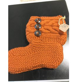 Kim Lantz Kim Cable wool slippers