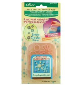 Clover CLOVER 8925 - Applique Mold - Snow Crystals