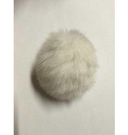 Kathy's Fiber Arts & Crafts Ltd Real Rabbit Fur Pom Pom