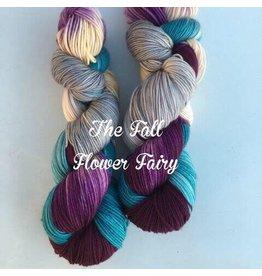 A Whimsical Wood Yarn Co Fall Flower Fairy