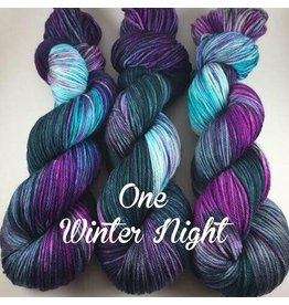 A Whimsical Wood Yarn Co One Winters Night ( Worsted)
