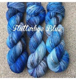 A Whimsical Wood Yarn Co Flutter bye Blue