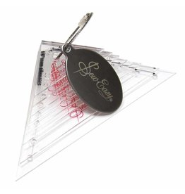SEW EASY SEW EASY Right Angle Triangle Template Set - 8pcs