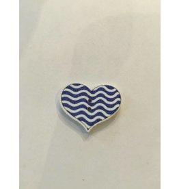 Kathy's Fiber Arts & Crafts Ltd Button 20mm Heart 2