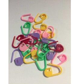 Kathy's Fiber Arts & Crafts Ltd Stitch Markers Locking Random Color