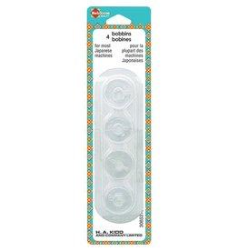 Hakidd Plastic Bobbins - For Japanese Machines