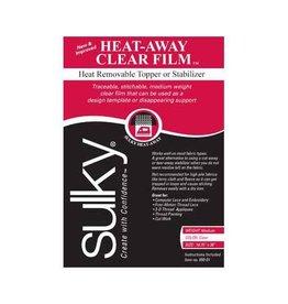 """Sulky SULKY Heat-Away - Clear - 50 x 91cm pkg (20"""" x 36"""")"""