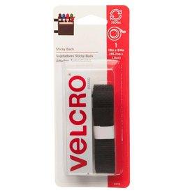 """Hakidd VELCRO Sticky Back Tape Black - 19mm x 45cm (3⁄4"""" x 18"""")"""