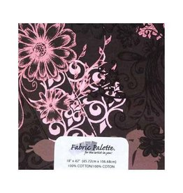 """Hakidd 1/2 Yard Large Pre-Cut Fabric - Pink &  brown Collection 1 - 45cm x 1m (18"""" x 42"""")"""