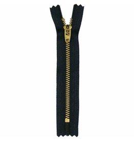 "Hakidd COSTUMAKERS Denim Closed End Zipper 20cm 8""Navy 1713"