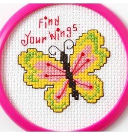 Bucilla Bucilla  My 1st Stitchâ - Counted Cross Stitch Kits - Mini - Find Your Wings