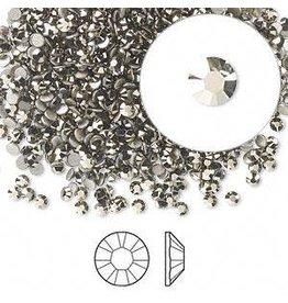 Firemountain Beads Flat back, Swarovski® crystal rhinestone, Crystal Passions®, crystal metallic light gold, foil back, 2.1-2.3mm Xilion rose (2058), SS7. Sold per pkg of 144 (1 gross).