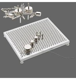 Firemountain Beads Thing-A-Ma-Jig, aluminum, 5-1/2x4-1/2 inch deluxe model wire jig.
